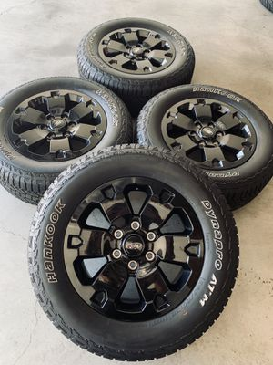 """18"""" Ford Ranger Black Wheels Rims Tires 2020 for Sale in Downey, CA"""