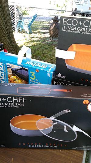 Eco + chef 11 in saute pan for Sale in Franklin, NJ