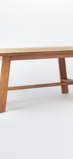 Linden Dining Table Natural Finish for Sale in Las Vegas,  NV