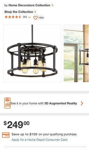 Dining room light fixture for Sale in Queens, NY