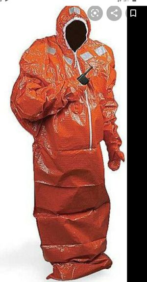 Thermal Protective Aid Suit, great for emergency situations for Sale in Lynnwood, WA