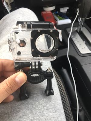 Water proof durable case for GoPro style camera with adjustable bar mount/ other mount for Sale in Nashville, TN