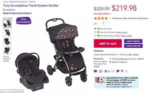 Infant car seat and stroller combo SCRUMPTIOUS by Heidi Klum for Sale in Batesburg-Leesville, SC
