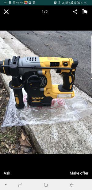 ROTARY hammer BRUSHLESSS XR new for Sale in MD, US