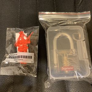 Supreme Lock And Parachute Toy Figure New for Sale in Artesia, CA