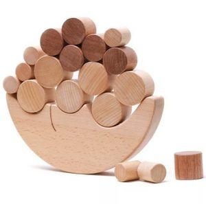 Wooden Montessori Moon Blocks Balance Game Toys Kids Educational. for Sale in Tamarac, FL