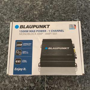 Blaupunkt 1500W AMP for Sale in San Diego, CA