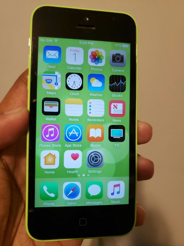 IPhone 5 C , Excellent Condition, FACTORY UNLOCKED.