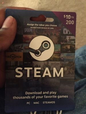 Steam wallet for Sale in Germantown, MD