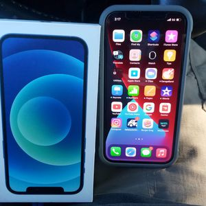 Blue Iphone 12 1 Week Old Brand New for Sale in Catonsville, MD
