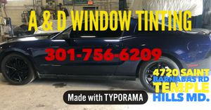 Window Tint for Sale in Forestville, MD