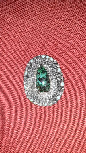 Silver vintage brooch made in Jerusalem for Sale in Ruskin, FL