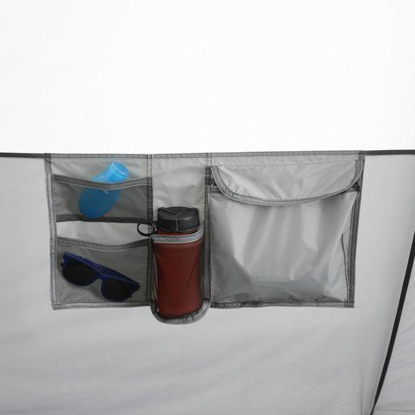 17' x 15' 11-Person Instant Hexagon Cabin Tent