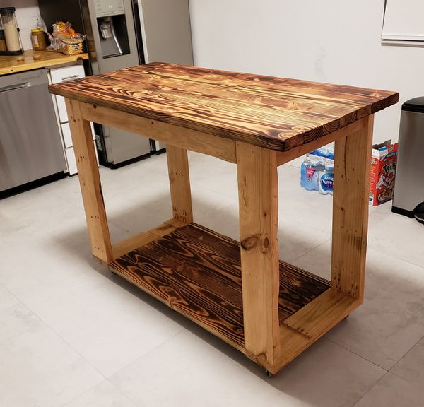 Custom made kitchen islands!!!