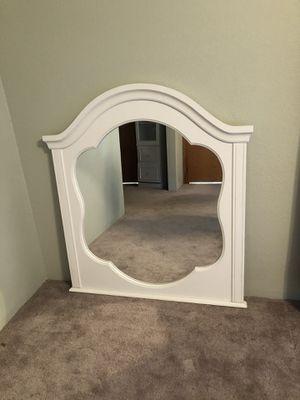 White decorative mirror for Sale in Kennewick, WA