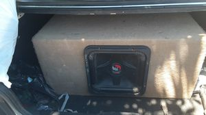 12 inch kicker solobaric for Sale in Fresno, CA