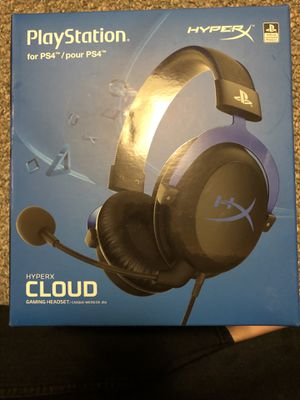 HYPER X Cloud PS4 headset for Sale in Chicago, IL