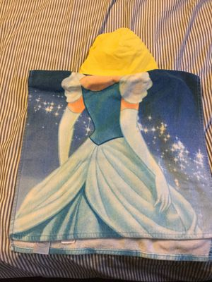 Cinderella hooded towel for kids for Sale in College Park, MD