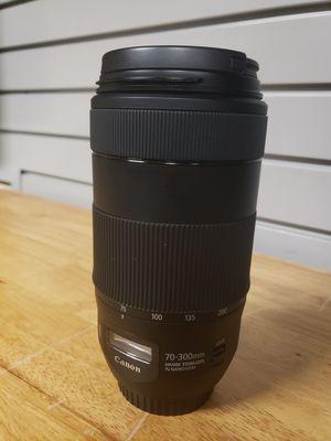Canon EF 70-300mm f/4.0-5.6 IS II Nano USM for Sale in Grapevine, TX
