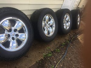 20inch Rims/Tires. Off of 2007 Dodge Ram Truck. for Sale in St. Louis, MO