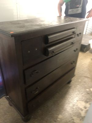 Antique dresser/beautiful wood. Just need some hardware placements. for Sale in Boston, MA
