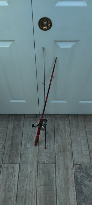 Fishing rods and net for Sale in Detroit, MI