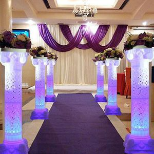 4 PCS tall wedding columns with LED lights for Sale in Calverton, MD