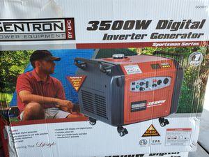 GENTRON 3500 WATTS SUPER QUIET ELECTRIC START GENERATOR NEW for Sale in San Bernardino, CA