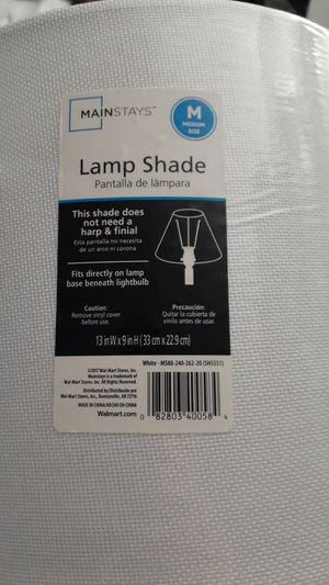 Lamp shade for Sale in Bakersfield, CA