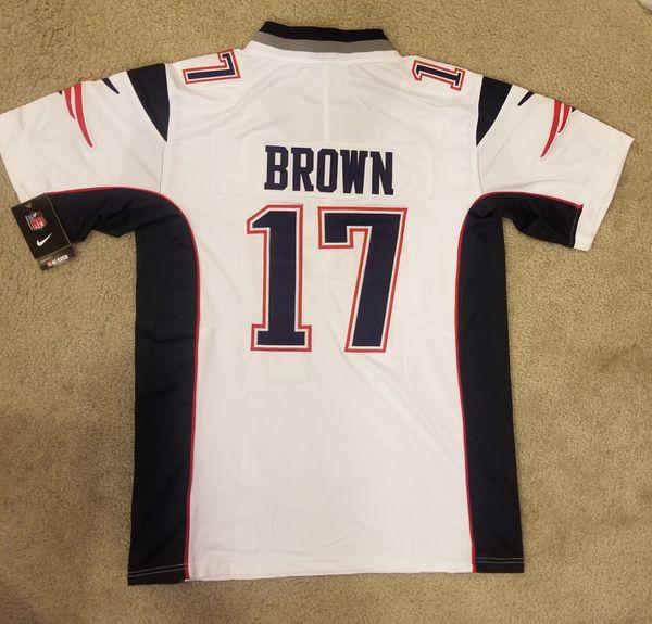 Antonio Brown Patriots Jersey