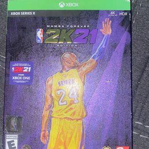 2k21 NEXT GEN Xbox X!!! Don't need it I got the ps5 for Sale in Henderson, KY