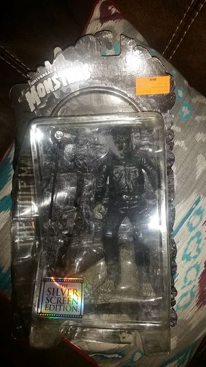 The Wolf Man Universal Studios Monsters Silver Screen Edition Action Figure for Sale in Phoenix, AZ