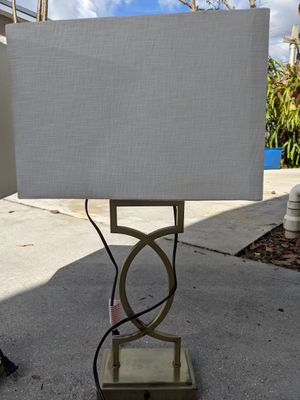 Two lamps for Sale in Fort Lauderdale, FL