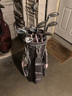 Women's and Men's golf club and bag for Sale in Seymour, CT