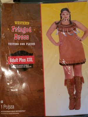 Western fringed dress costume for Sale in West Springfield, MA
