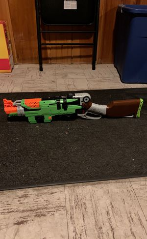 NERF Gun Slingfire Zombie Gun for Sale in Dover, MA