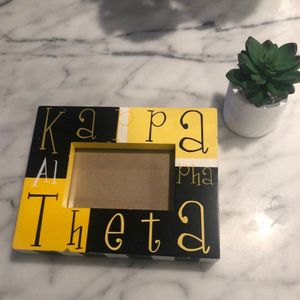 Kappa Alpha Theta picture frame for Sale in Trophy Club, TX