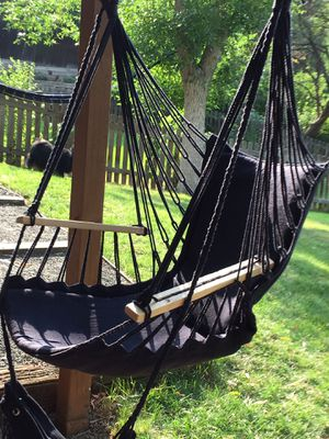 Navy Blue Hammock Chair for Sale in Bothell, WA