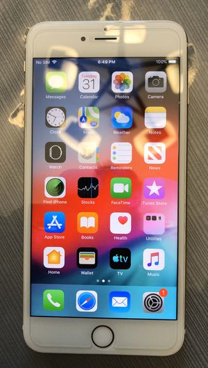 Factory unlocked iPhone 6 plus like brand new, $220 for Sale in Yuba City, CA