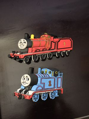 Thomas the Tank Engine Magnet and James the Red Engine Magnet for Sale in Largo, FL