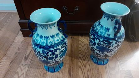 Blue and White Vases for Sale in Rockville,  MD
