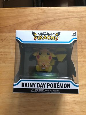 Funko Figure Pokemon A Day with Pikachu Rainy Day for Sale in Colma, CA