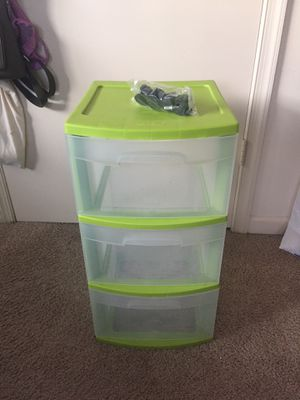 Plastic Storage Drawers With Wheels for Sale in Franklin, TN