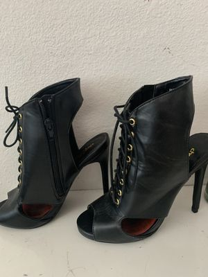 Black heels for Sale in Tracy, CA