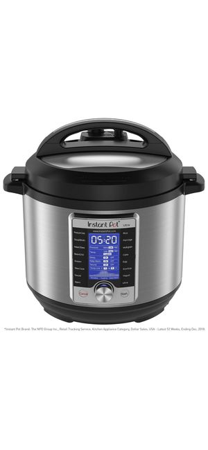 Instant Pot Ultra 10-in-1 Electric Pressure Cooker, Slow Cooker, Rice Cooker, Steamer, Saute, Yogurt Maker, Cake Maker, Egg Cooker, Sterilizer, and W for Sale in Martinez, CA