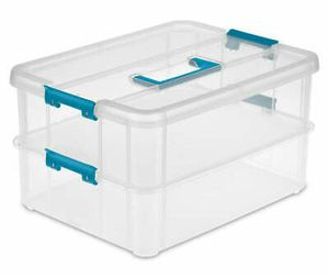 Sterilite large 2 tier handle storage box brand new for Sale in Los Angeles, CA