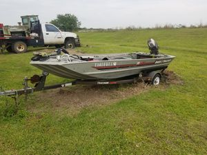 1989 bass tracker 16 foot for Sale in Pearland, TX