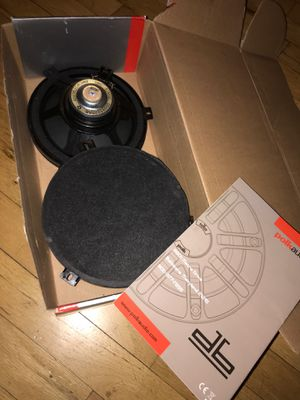 Honda speakers 6.5 fits most cars brand new polk audio for Sale in Sunnyvale, CA