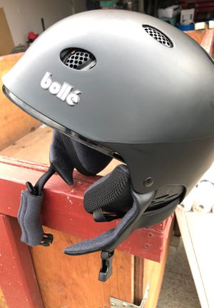 Bolle snowmobile skiing helmet size small with cover for Sale in Vancouver, WA