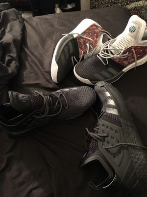 Adidas James Harden sz 13. Two pair. for Sale in Houston, TX